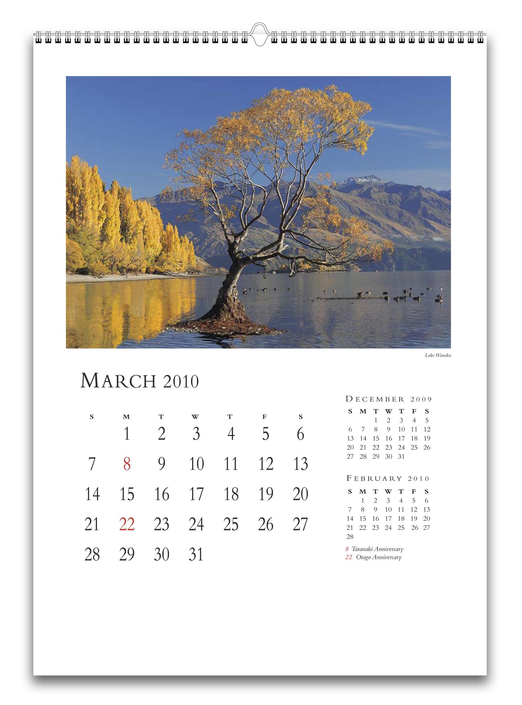 Как сделать перекидной настенный календарь