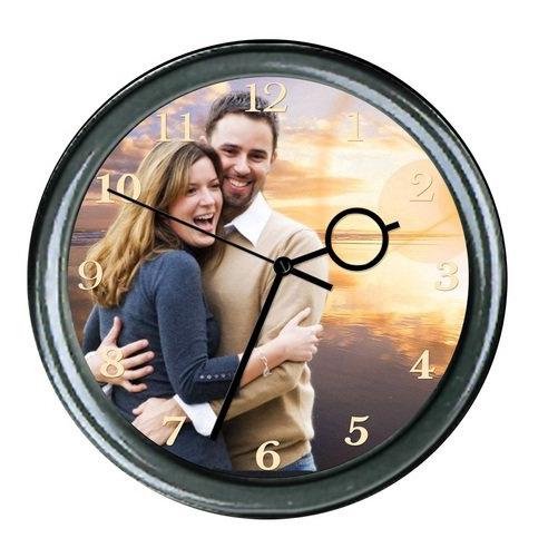 Часы своими руками с фотографией